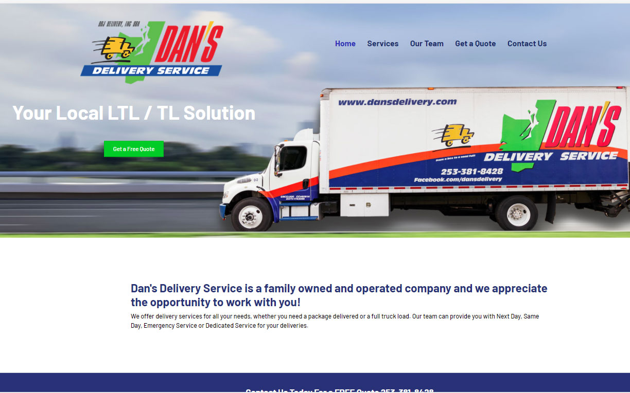 Dan's Delivery Services